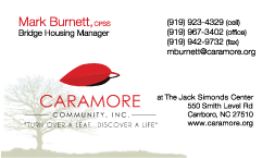 Caramore Business Card Mark