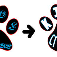 Paw Logo Transformation