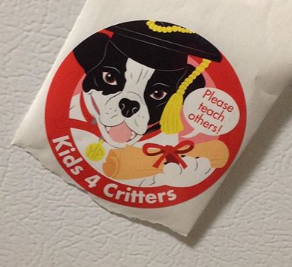 Mister Peters Graduation Sticker Photo