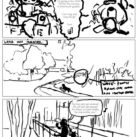 K4C Cat Comic Page 1 WIP001