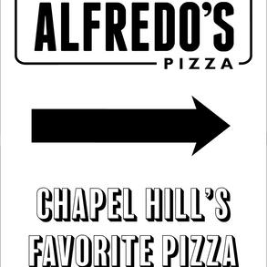 Alfredo's Pizza Poster
