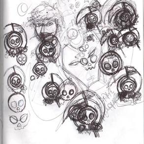 Design Death Sketch