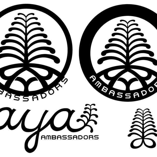 AYA Logo Set with Aya Symbol