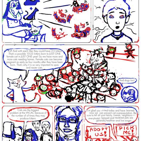 K4C Cat Comic Page 3 WIP002