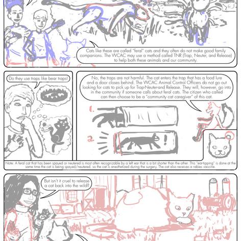 K4C Cat Comic Page 4 WIP004