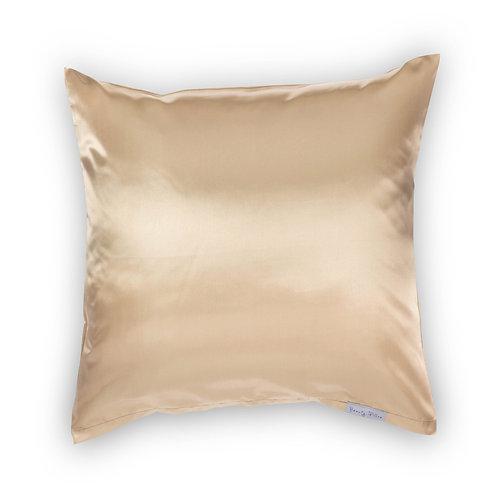 Beauty Pillow kussensloop Champagne 80x80xcm