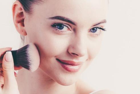 synergie skin mineral make-up kabuki kwa