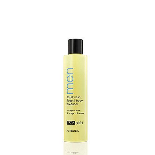 Total Wash Face & Body Cleanser Men