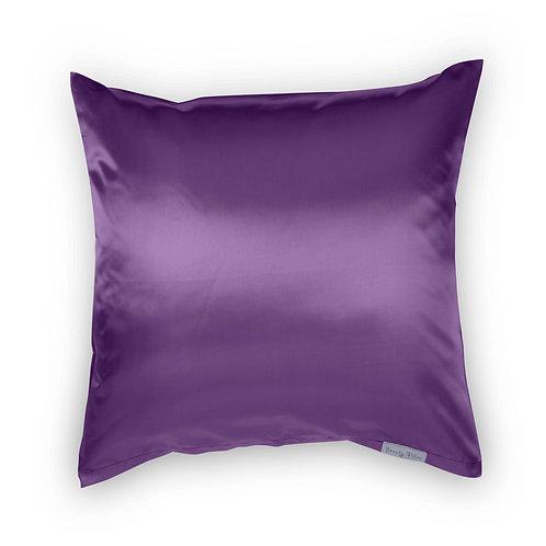 Beauty Pillow kussensloop Aubergine 80x80xcm