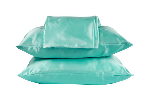 Beauty Pillow Dekbedovertrek set Petrol 240x200/220 (lits-jumeau