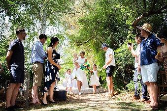 Wedding; Walking down the aisle