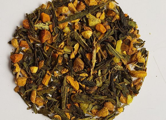 Turmeric Ginger Lemon Green Tea