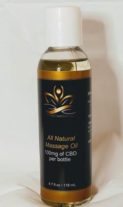 Massage Oil 100mg