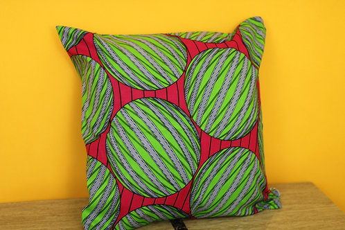 Oni Throw Pillow Cover
