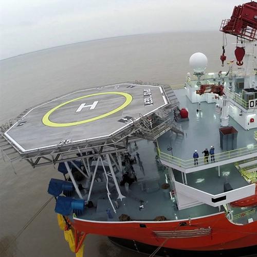 helideck - northsea