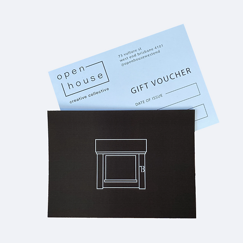 Open House Gift Voucher