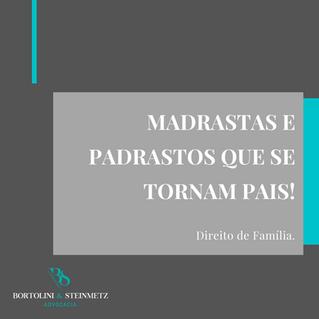 MADRASTRAS E PADRASTOS QUE SE TORAM PAIS