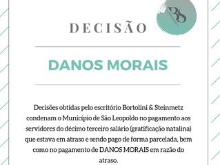 Decisão condena Município de São Leopoldo à indenização por danos morais em razão do atraso no pagam