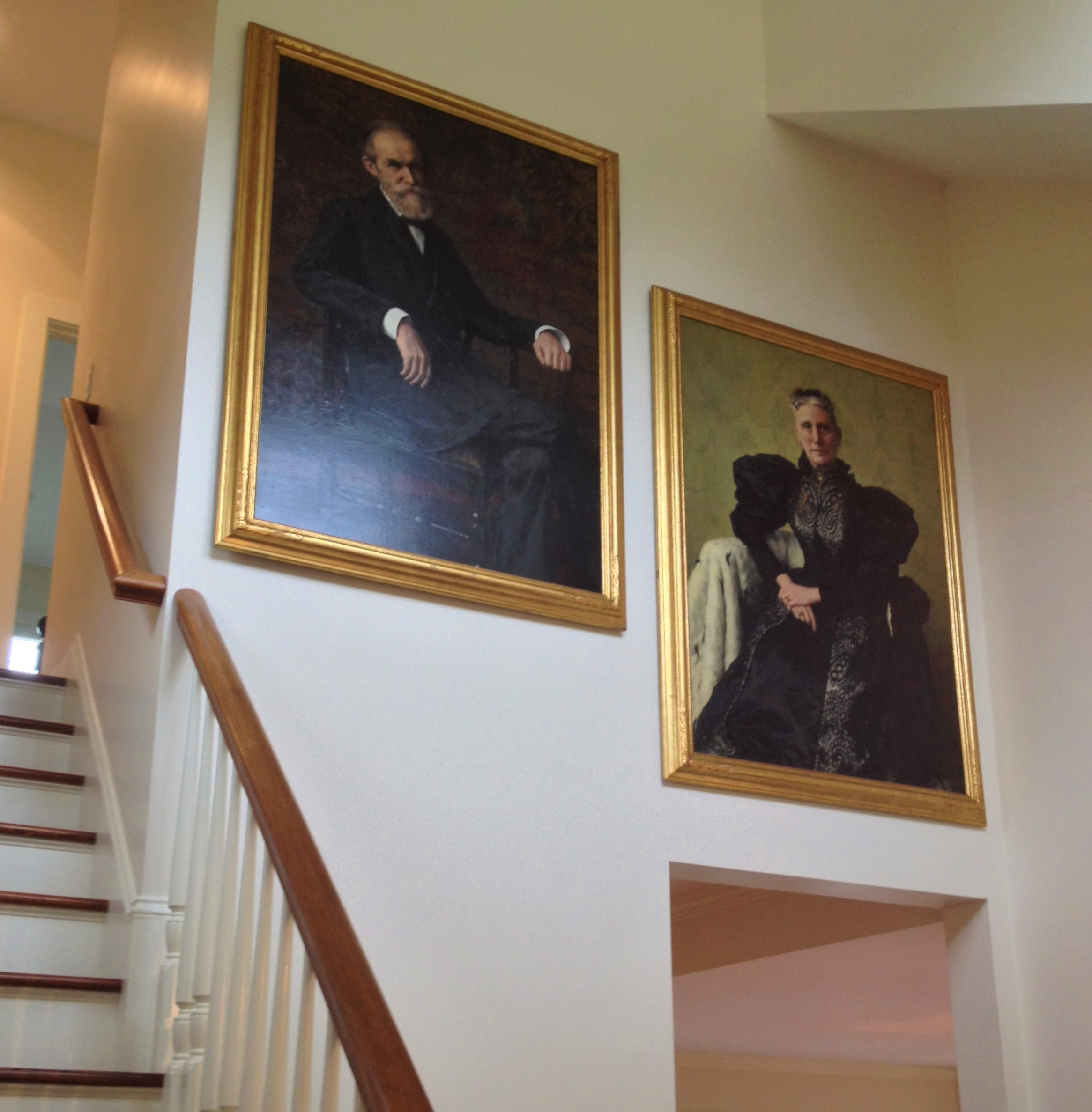Antique Portraits in Atrium