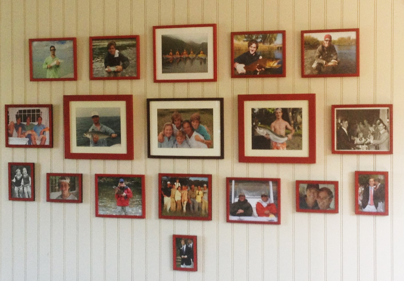 Family Photo Wall (detail)