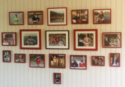 Family Photo Wall (detail)
