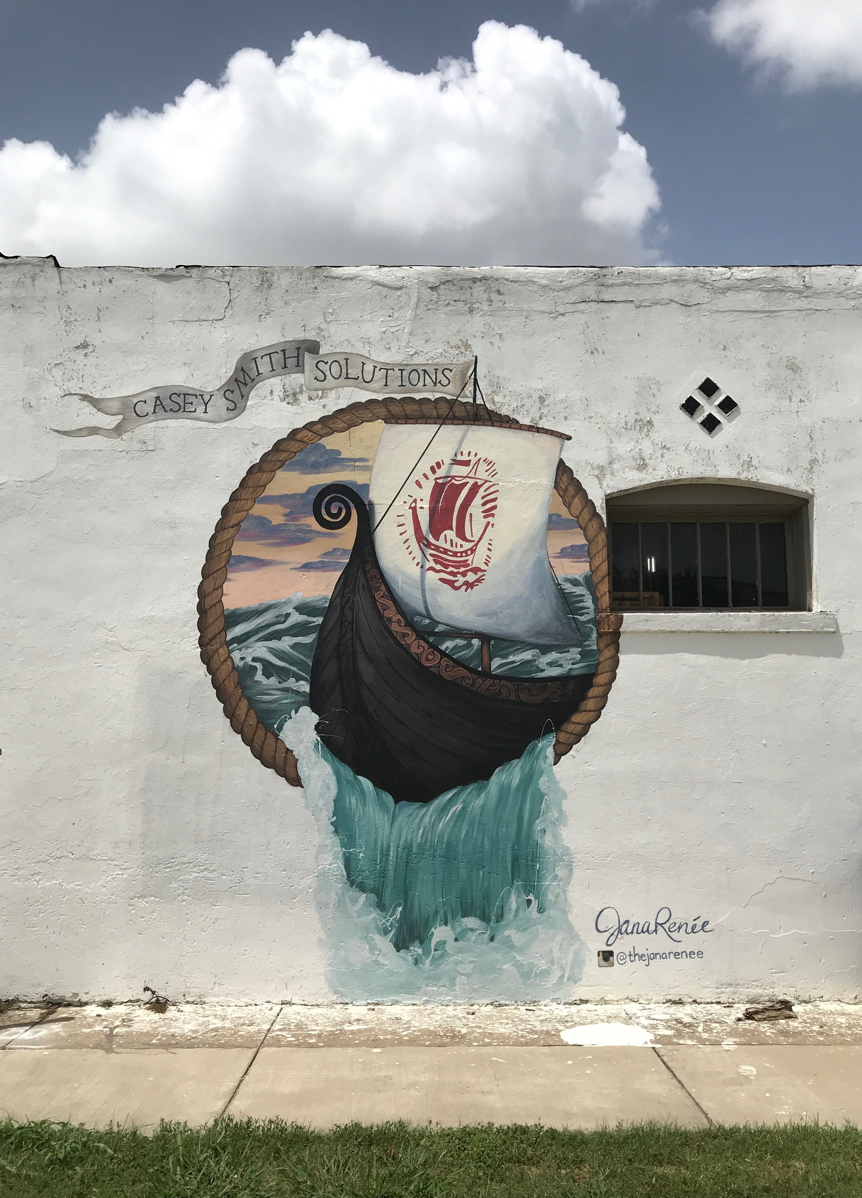 Ship Mural