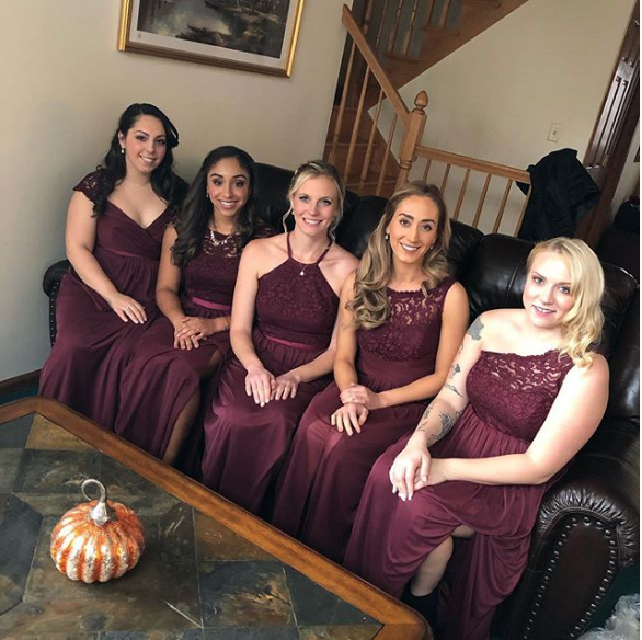 Bridesmaids Makeup