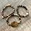 Thumbnail: Set of Gemstone Bracelets Moss Agate