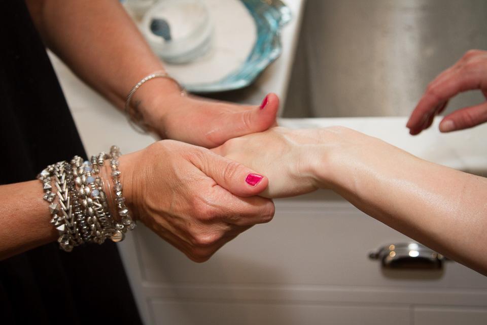 Hand and Arm Massage