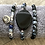 Thumbnail: Set of Black and Gray Bracelets