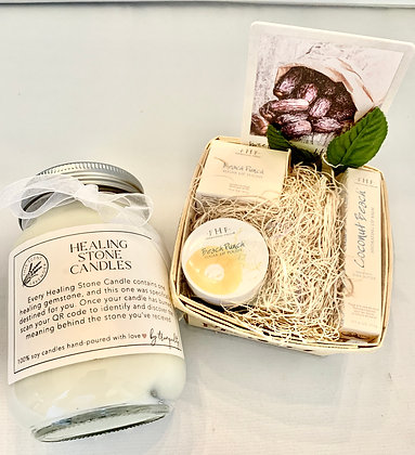 Farmhouse Fresh Lip-care package with Candle