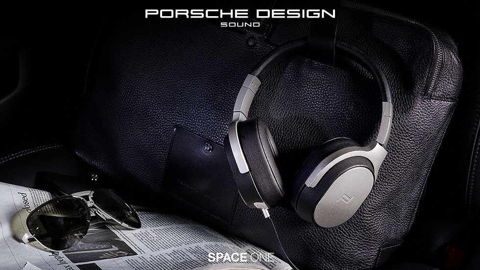 KEF Porsche Design Sound Space One Active Noise Cancelling Headphones