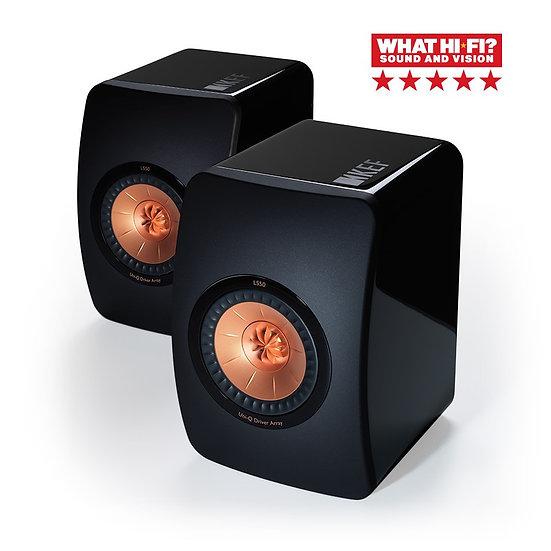 KEF LS50 Mini Monitor Bookshelf Speakers