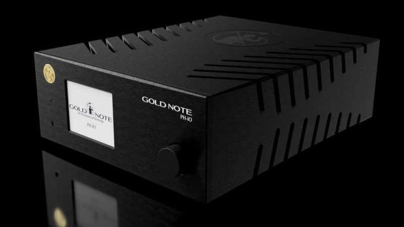 GOLD NOTE PH-10 MM / MC PHONO PREAMPLIFIER