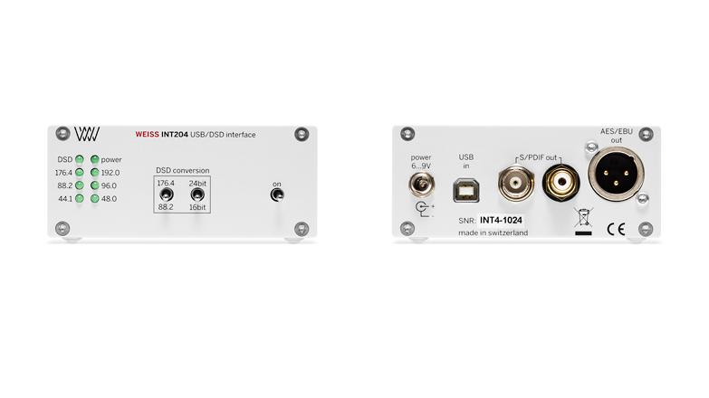 WEISS INT204 usb/dsd interface (SILVER)