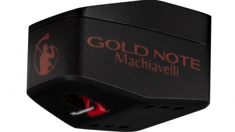 GOLD NOTE MACHIAVELLI RED MC PHONO CARTRIDGE