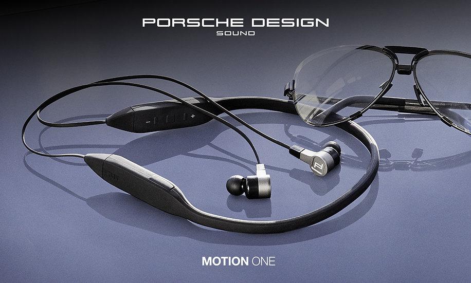 KEF Porsche Design Sound Motion One Bluetooth Earphones