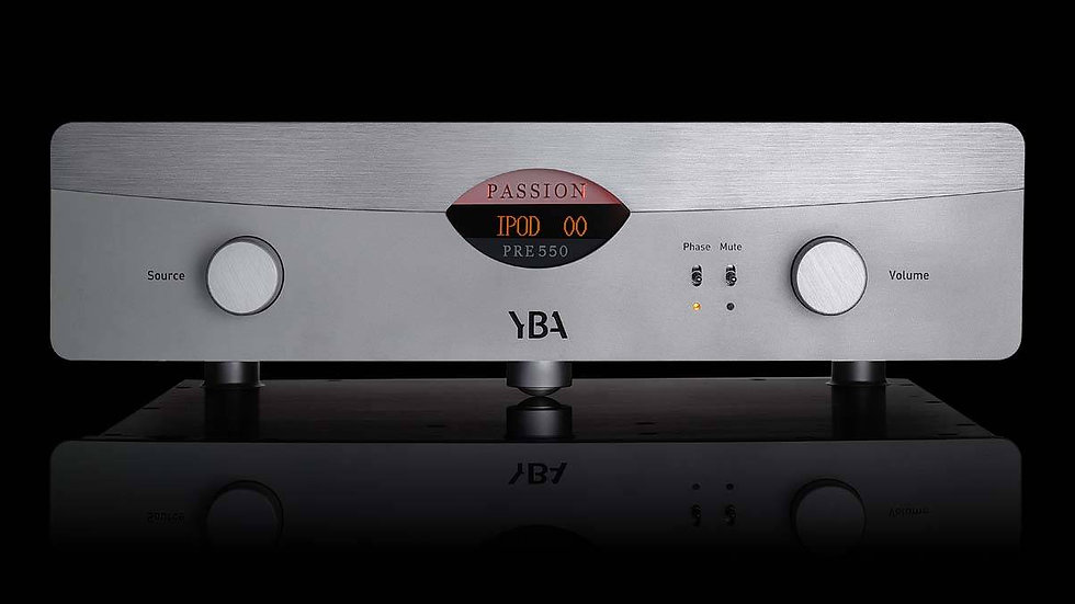 YBA PASSION PRE550 PRE AMPLIFIER/DAC