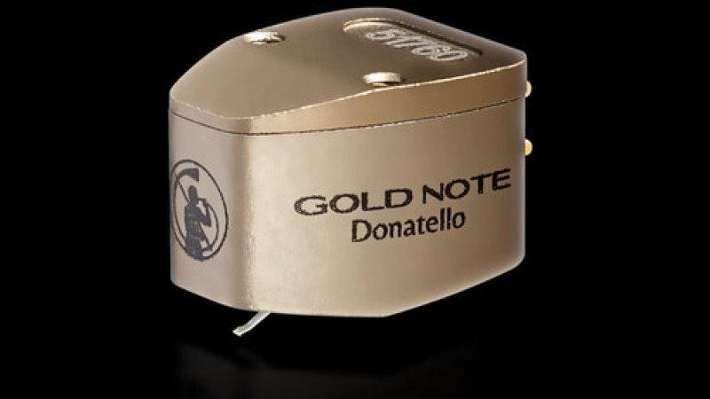 GOLD NOTE DONATELLO GOLD MC PHONO CARTRIDGE