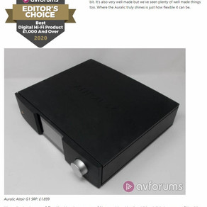 Best Digital HiFi Product £1,000+ : AURALiC Altair G1