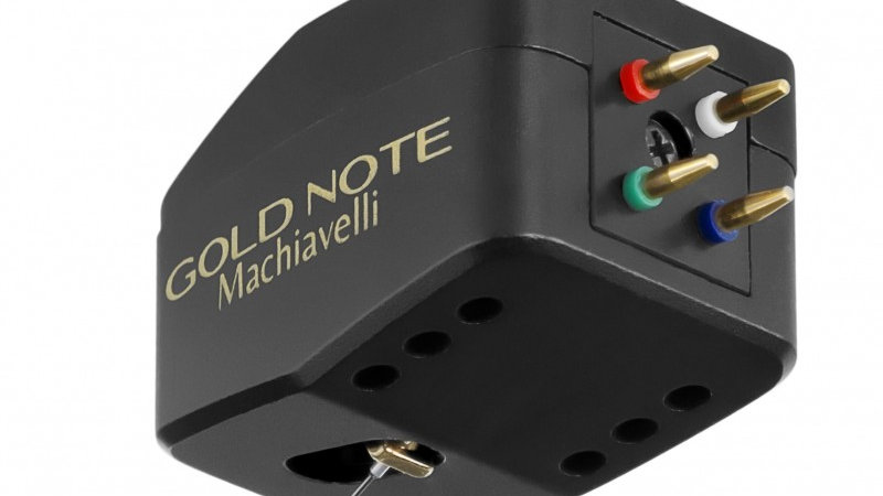 GOLD NOTE MACHIAVELLI GOLD MC PHONO CARTRIDGE