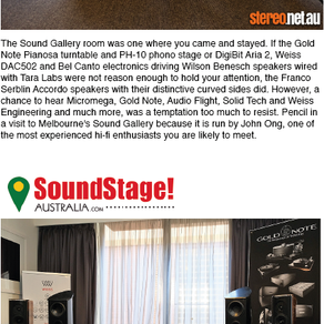 Show Success for Sound Gallery