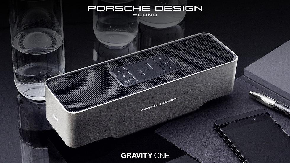 KEF Porsche Design Sound Gravity One Bluetooth Speaker