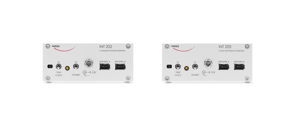 WEISS INT202/INT203 firewire interface (SILVER)