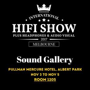SOUND GALLERY x MELBOURNE HIFI SHOW 2017