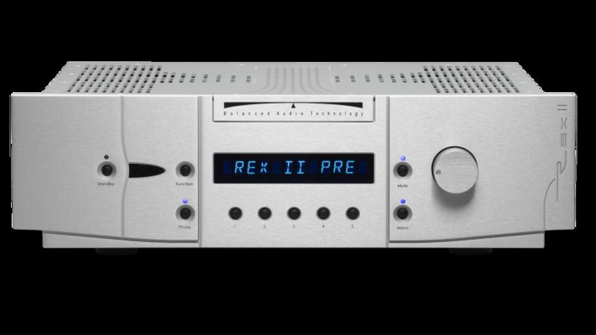 BALANCED AUDIO TECHNOLOGY REX II Preamplifier