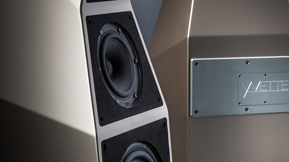 WILSON AUDIO YVETTE FLOOSTANDING SPEAKERS