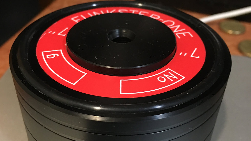 FUNKSTER-ONE DOUBLE SIDED RECORD WEIGHT