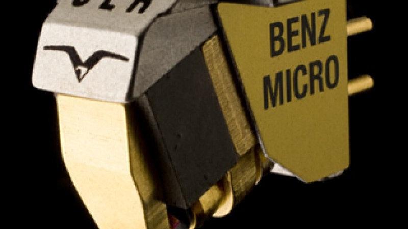 BENZ MICRO SLR/SHR GULLWING MC PHONO CARTRIDGE