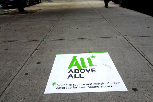 experiential marketing sidewalk graphics